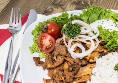 Mediteranian Dish Pitas in Paradise